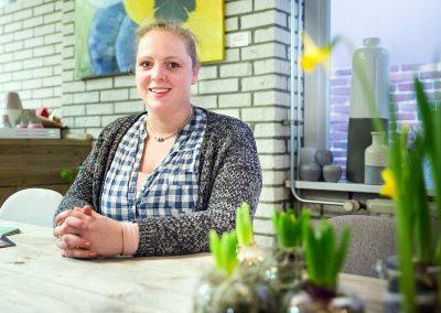 Marijke Bloem en Cadeau winkelhart roden-01