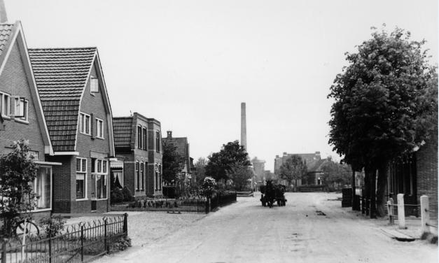 De Kanaalstraat in de jaren vijftig van de vorige eeuw