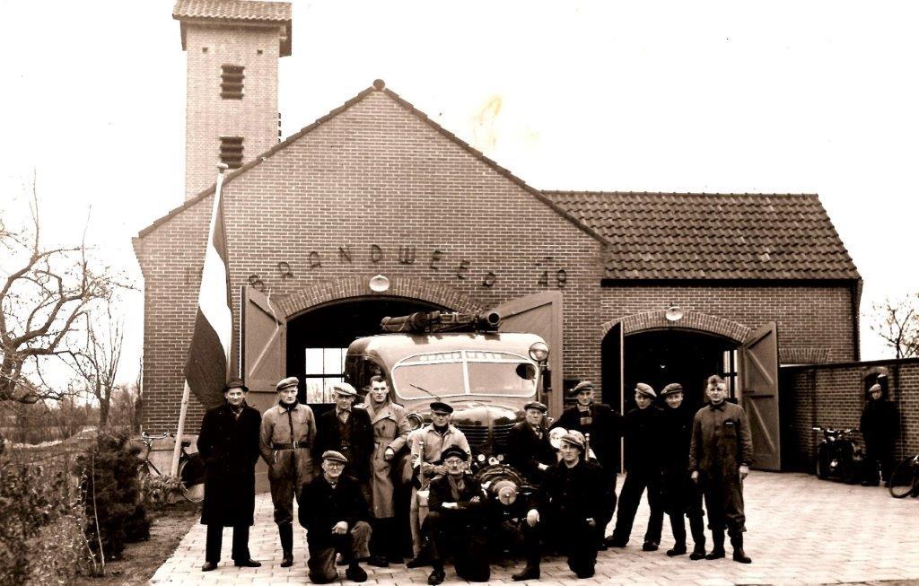 Uit het Roner archief: Nieuwe Brandweerkazerne